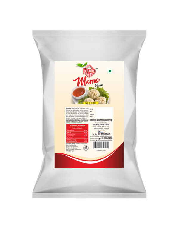 Foodip Pillow Pouches 1kg MOMO